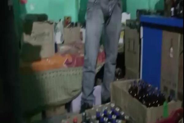 illegal liquor in chandigarh