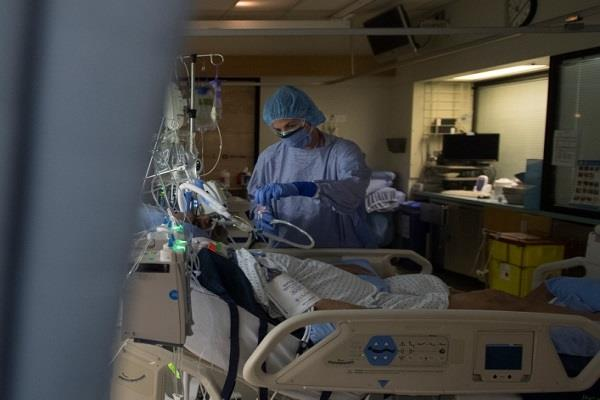 toronto doctor speaks hospitals fill  covid 19 patients die