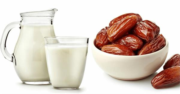 drink date milk before going to bed in winter  the body amazing benefits