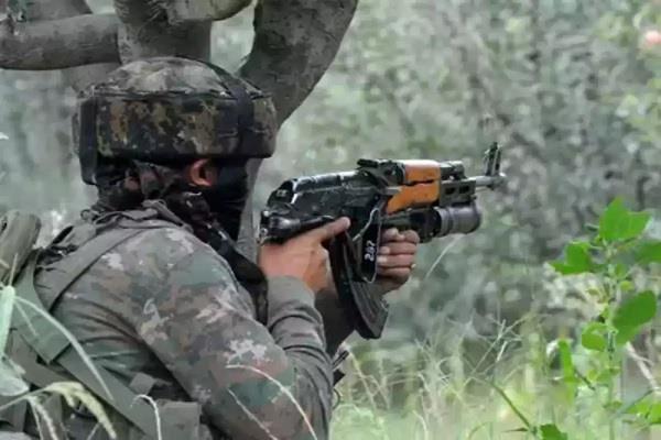 terrorist infiltration foiled  3 terrorists killed  4 jawans injured