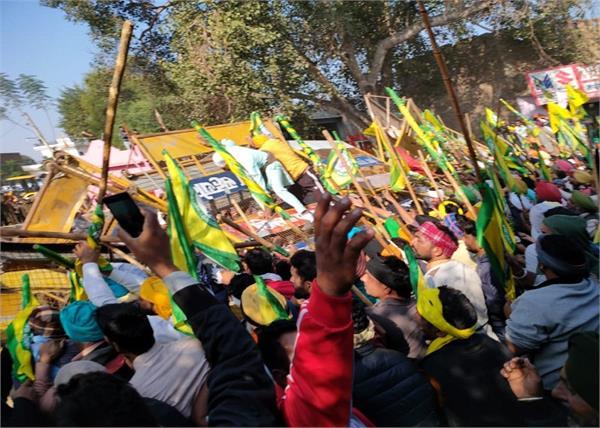 farmers  sri muktsar sahib  barricade