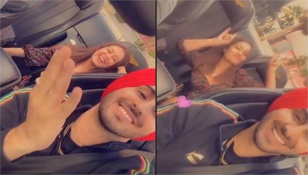 neha kakkar and rohanpreet singh enjoying honeymoon dubai