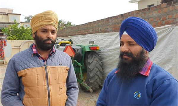 assistant business  combine owner  farmer kulwinder singh
