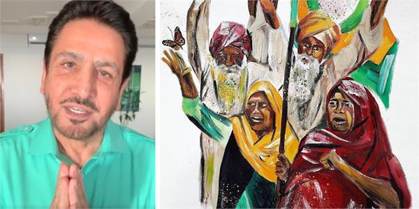 gurdas maan video to support farmers on guru nanak dev ji birth anniversary