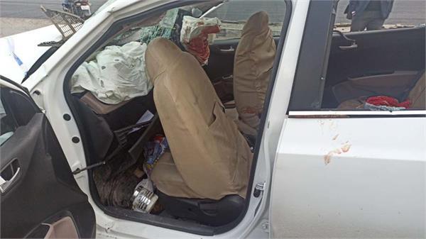 road accident phagwara 4 peoples dead