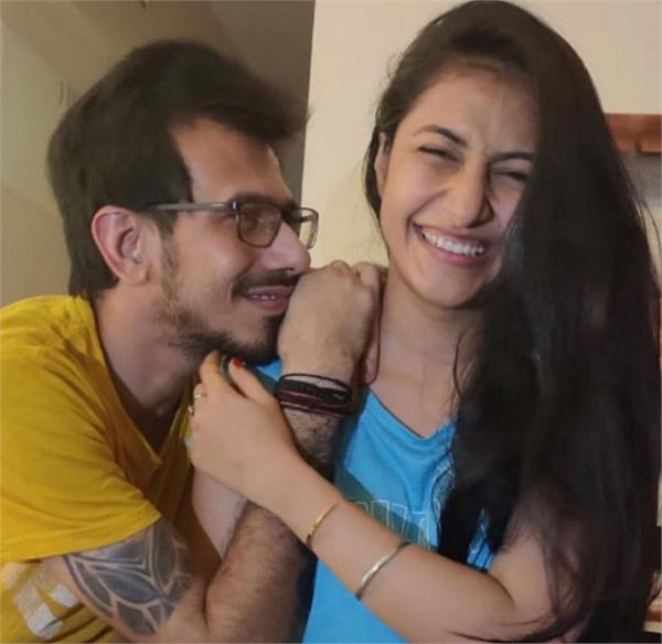 yuvendra chahal  fianc  dhanashree verma  photo