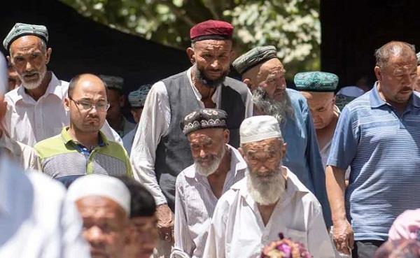 china uyghur community