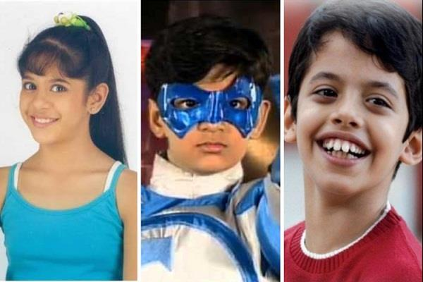 children superstars in their childhood  today any work on the movie screen