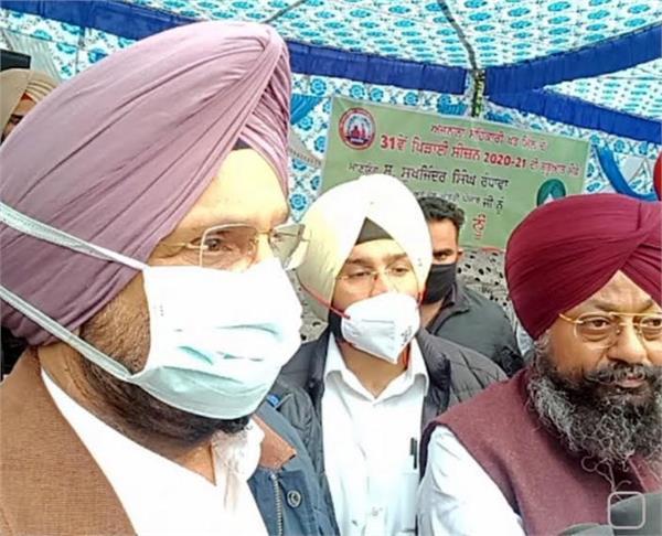 sukhjinder randhawa again over farmers laws