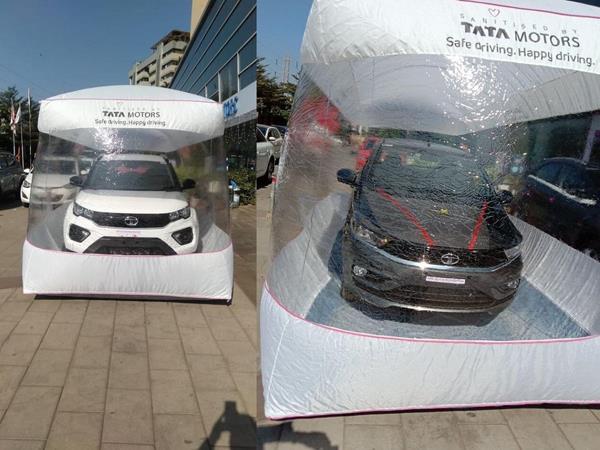 tata motors car safety bubble