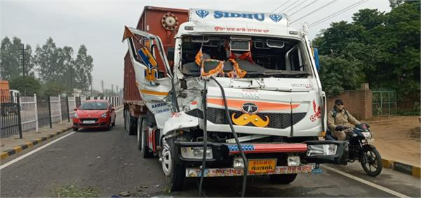 highway  accident  trucks