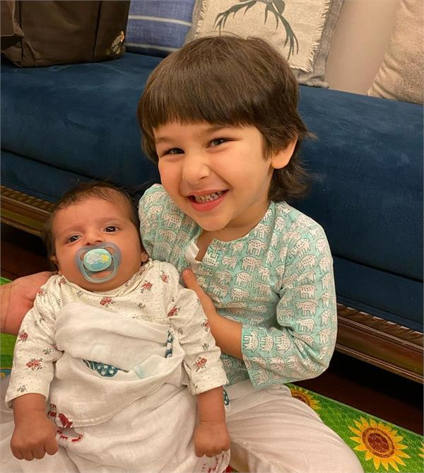 who is this lovely girl playing with timur  the pictures are going viral