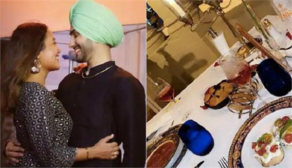 neha kakkar and rohanpreet singh enjoying honeymoon