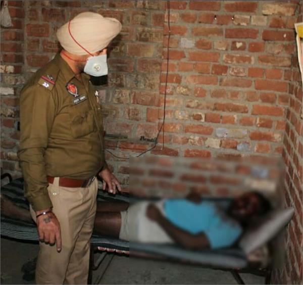 man murder in jalandhar shiv vihar nagar