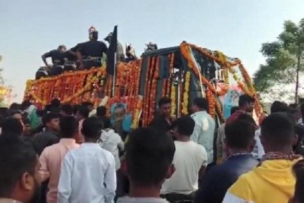 maharashtra martyr yash digambar deshmukh funeral