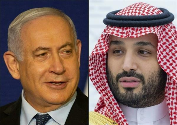 israeli pm s intelligence meeting with saudi crown prince