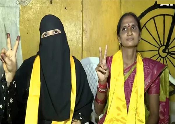 two woman ghmc election on tdp tickets