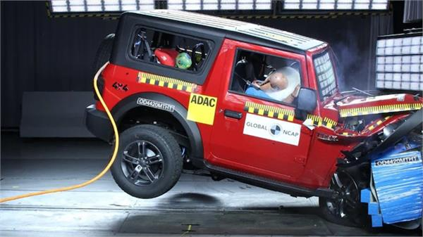 2020 mahindra thar secures four star global ncap rating