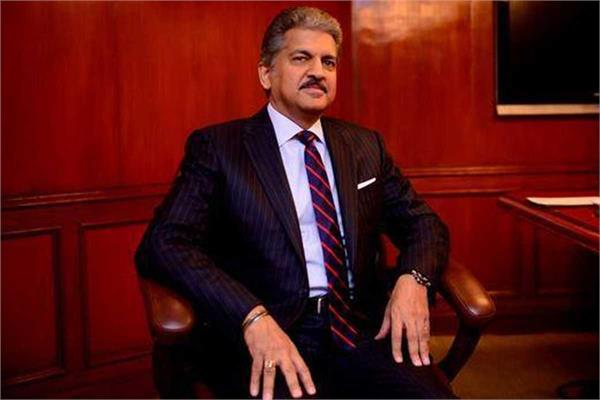 anand mahindra surprised to see wedding mask