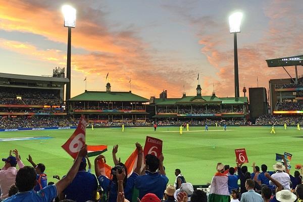 india vs australia  viewers  return
