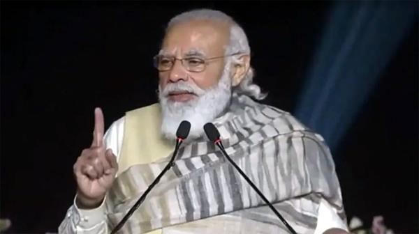 pm modi reminds punjab farmers of guru nanak s teachings