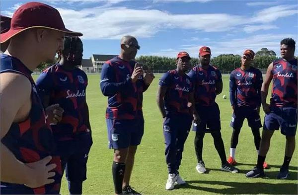 the second corona test for all west indies members on a tour of new zealand