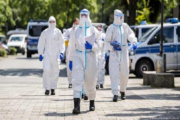 cases of corona virus in germany exceed 10 lac