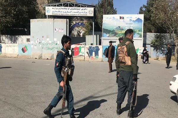 gunfire kabul university terrorist attack