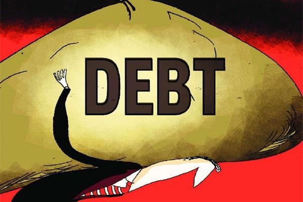 debt slowed during the september quarter