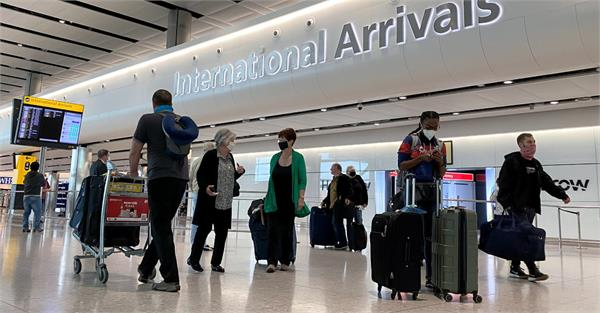 great relief for travelers to the uk