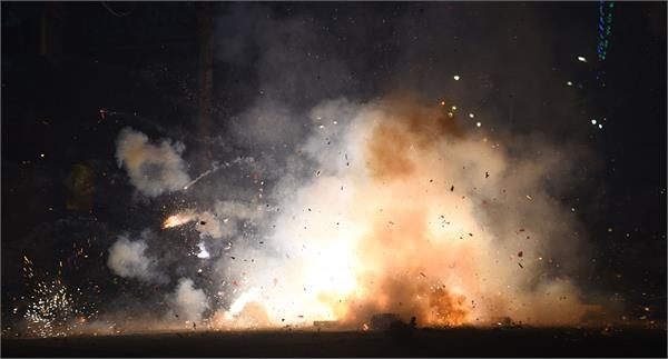 what a diwali this is with fog  smoke  pollution