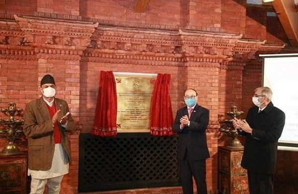buddhist monastery opened in nepal with the help of india