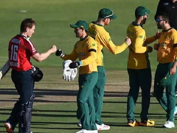 england beat south africa by 4 wickets to capture t20 series