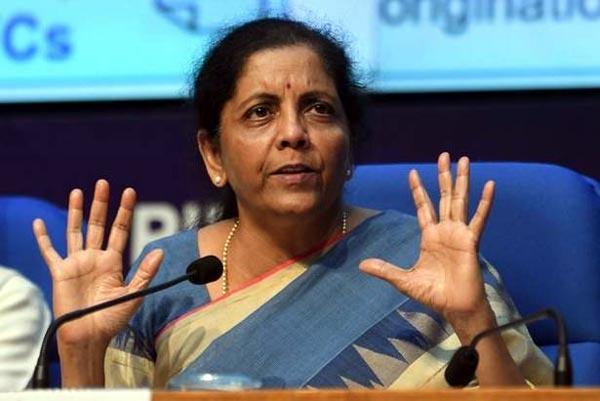anti national forces have hijacked the peasant movement  nirmala sitharaman