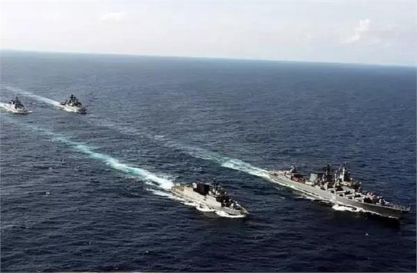 american warships arrived in south china sea china fired missiles
