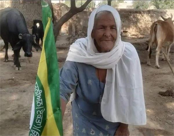 bathinda kisan andolankari mohinder kaur mother india award