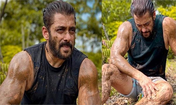 salman khan clicked pictures as a farmer but no words on kisan andolan