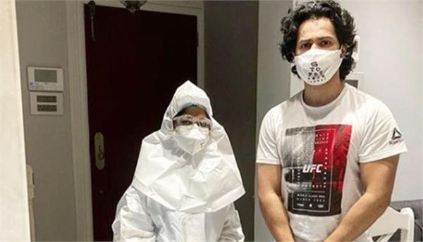 actor varun dhawans corona test negative will start shooting soon