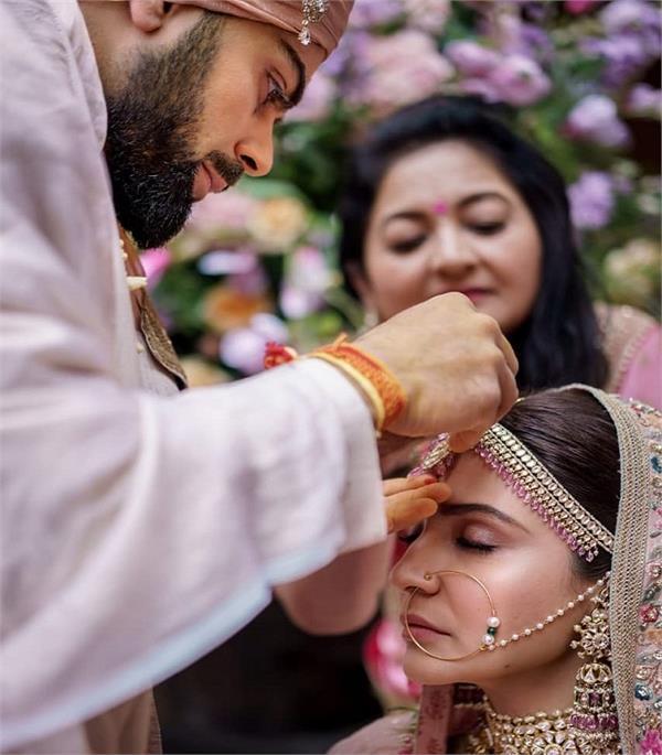 anushka sharma virat kohli celebrate third wedding anniversary