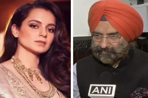 manjinder singh sirsa farmers protest kangana ranaut legal notice