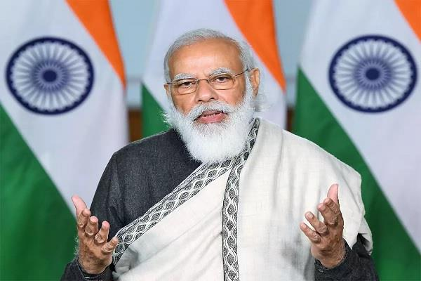 the latest attack on corona   modi leads from the front