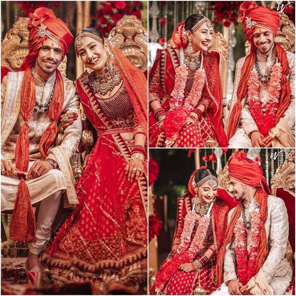 yuvendra chahal dhanashree verma wedding photos