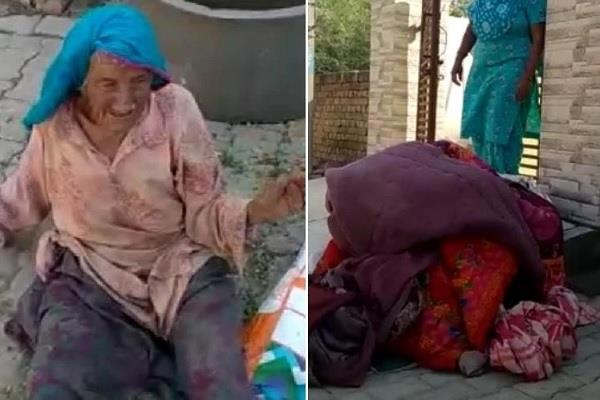 mother in law daughter in law beaten video viral police