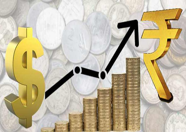 the rupee had gained 11 paise against the us dollar