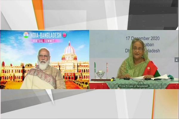 narendra modi sheikh hasina summit bangladesh