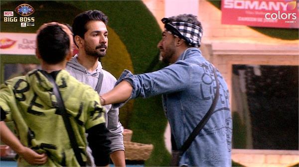 aly fights with abhinav rubina for rahul vaidya  gets angry with rahul later