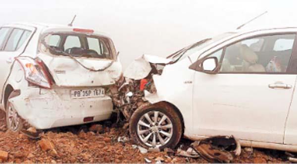 banga phagwara national highway road accident