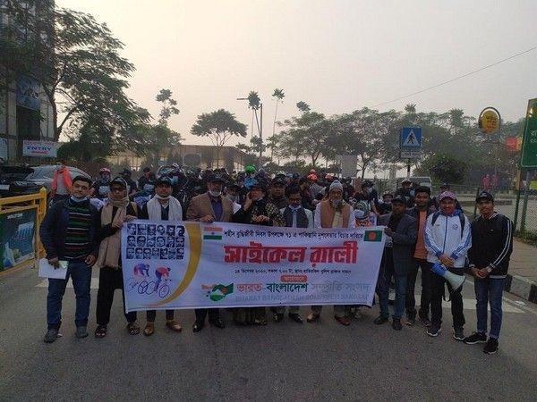 bangladesh bicycle rally