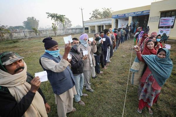 jammu and kashmir ddc elections voting