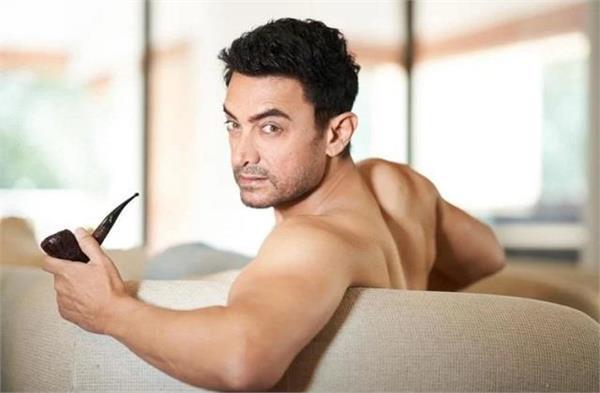 aamir khan  s shirtless looks go viral